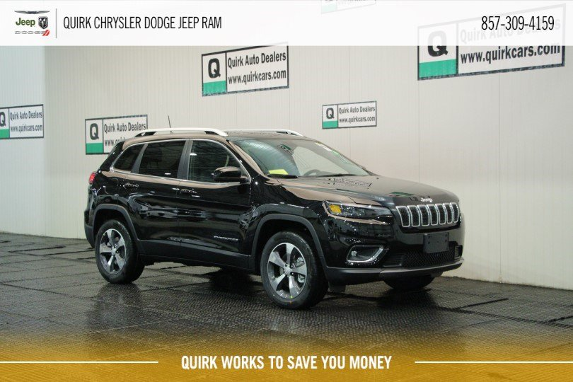 New 2019 Jeep Cherokee Limited Sport Utility In Boston Cj3329