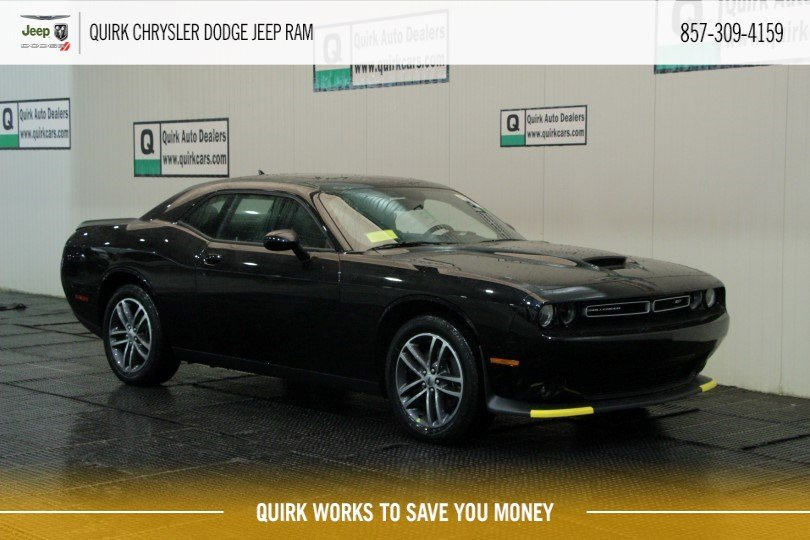 New 2019 Dodge Challenger Gt Coupe In Boston Cj3306 Quirk Cdjr